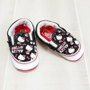 VANS Hello Kitty Baby Crib Shoes Sz 4 ~ DD1